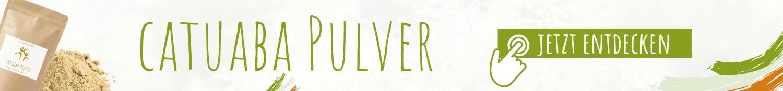 Catuaba Pulver Shop Banner