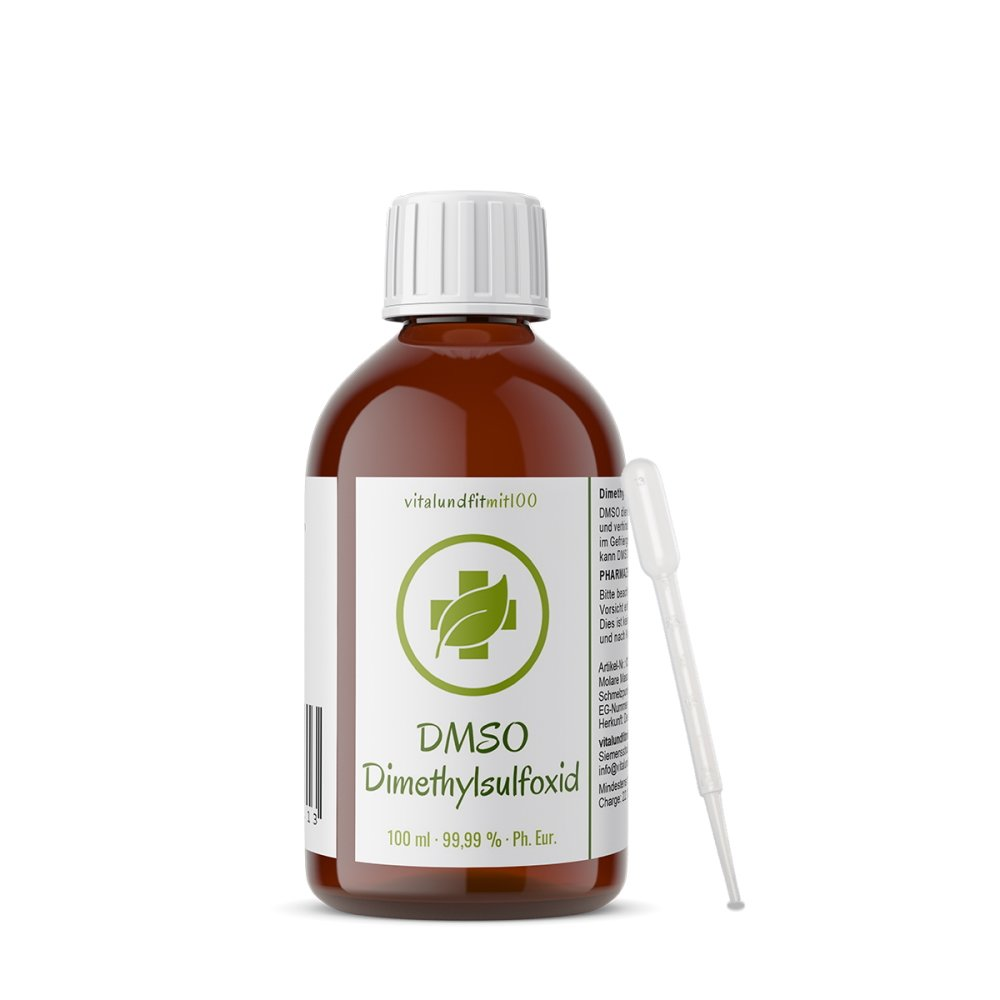 DMSO Dimethylsulfoxid 99,9 % (Ph. Eur.) in Braunglas 100 ml