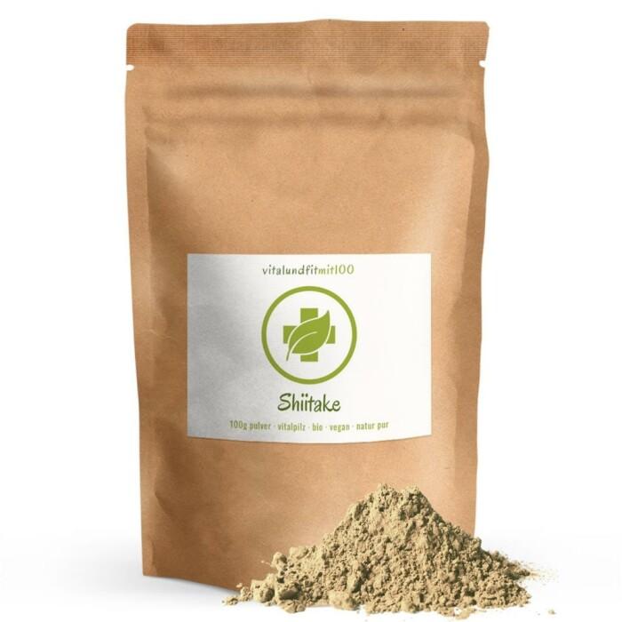 Bio Shiitake Pulver 100 g